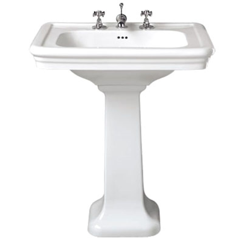 Imperial Etoile 700mm Basin with 1 Tap Hole and Pedestal