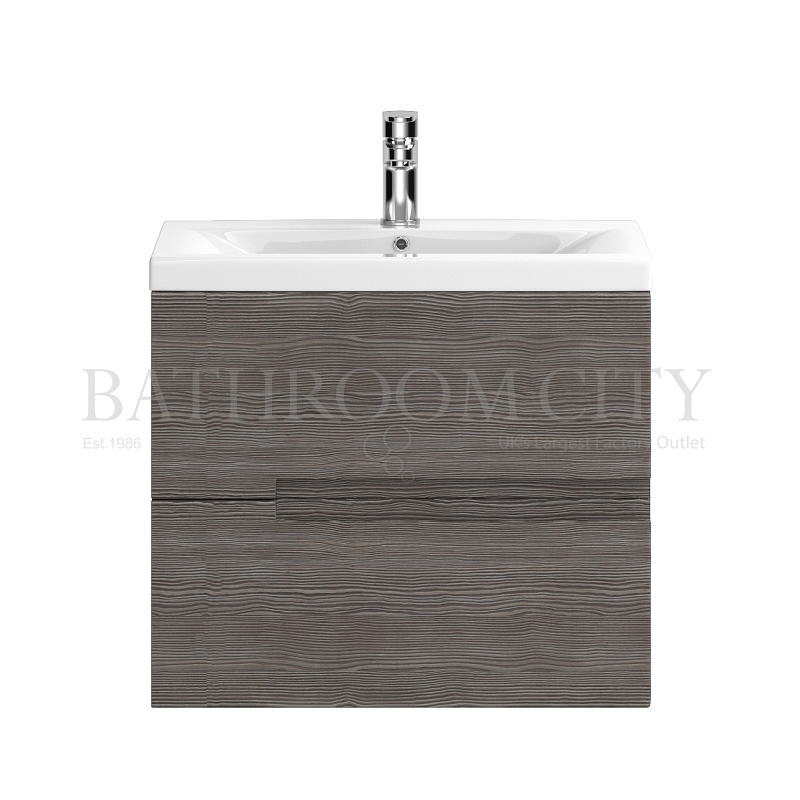 Urban WH 600mm Basin Unit - Grey
