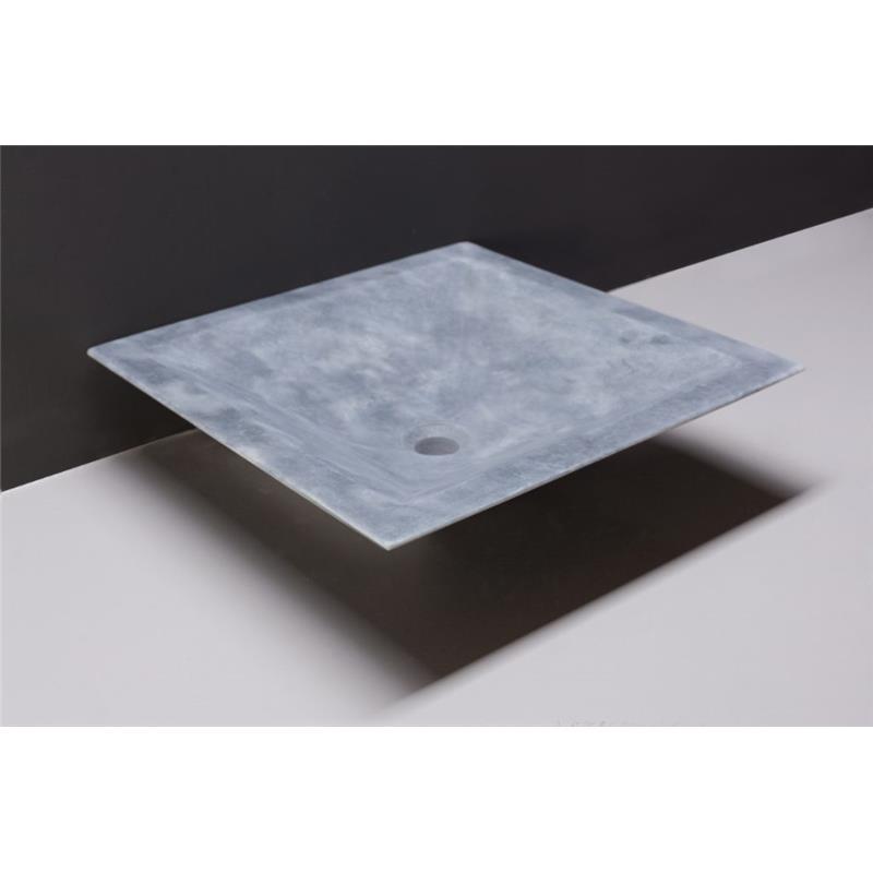 Milano Natural Stone Basin - Cloudy Marble