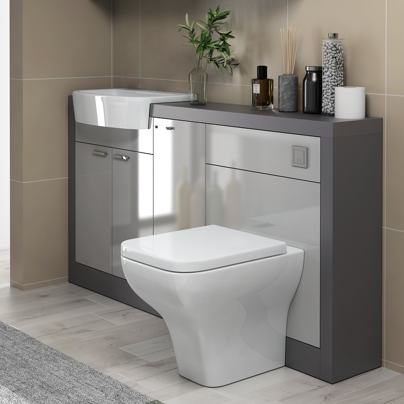 Bathroom Vanity Units With Basin And Toilet 1500mm Artcomcrea