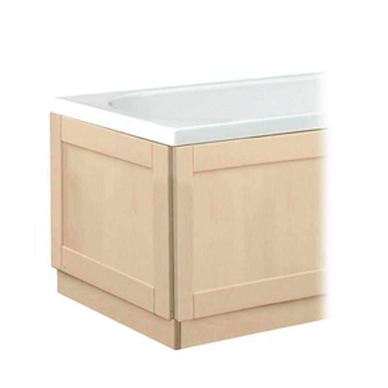 Traditional Oak Bath Panel 1700