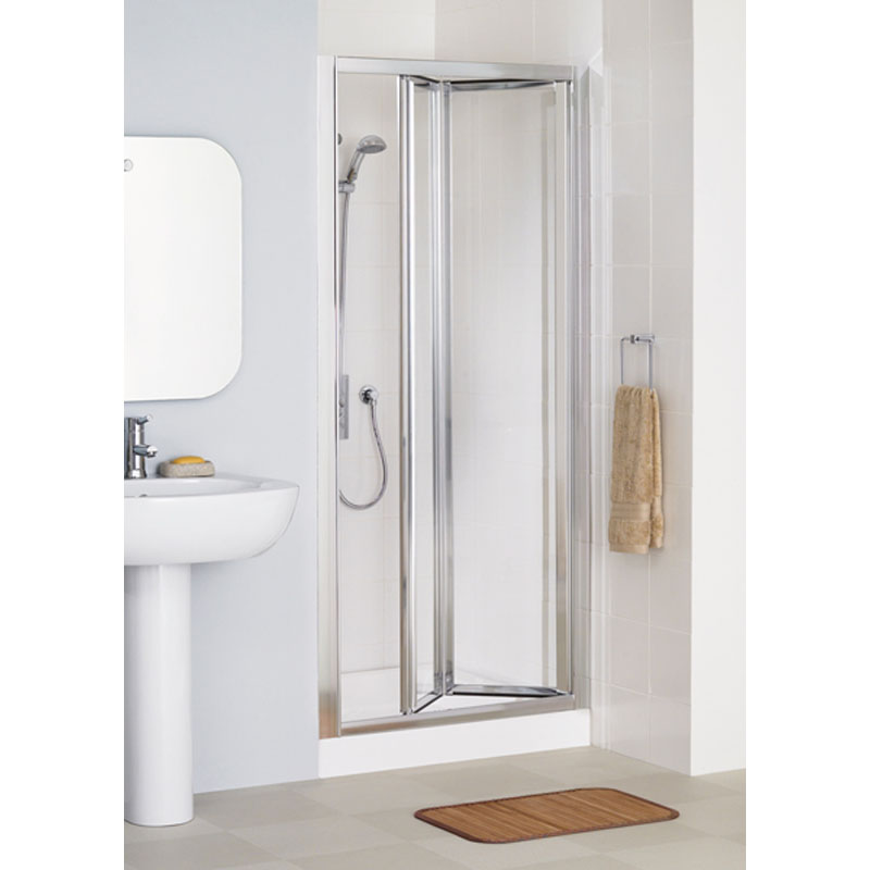 WHITE FRAMED BI-FOLD DOOR 700 x 1850