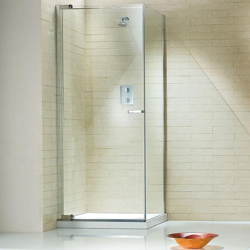 Pivot Shower Door - Left Hand Corner