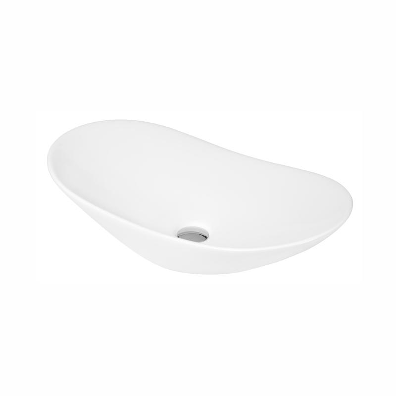 Oval Vessel countertop basin  615 x 355 x 155