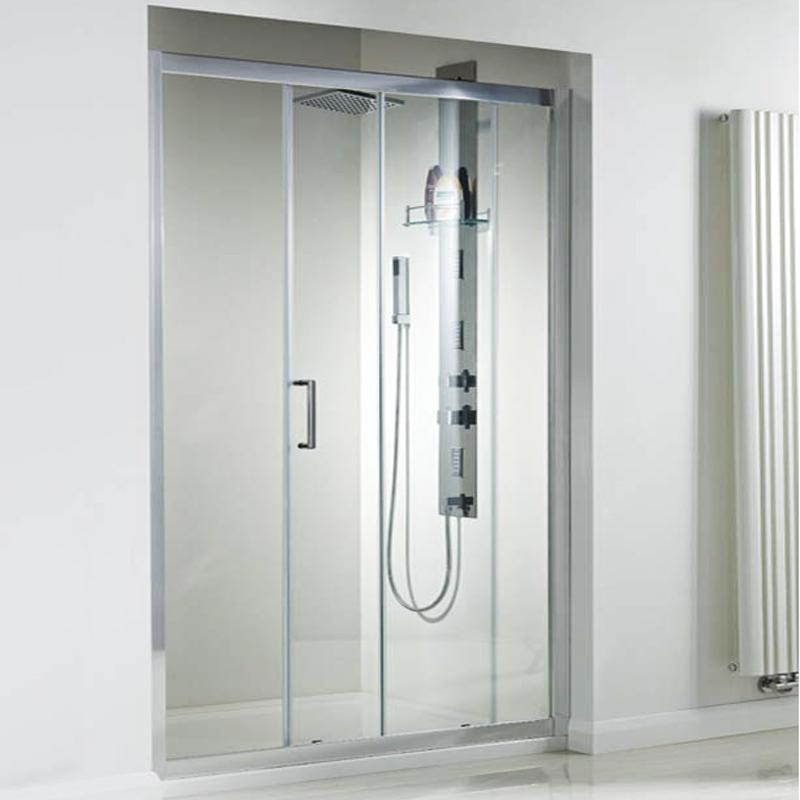 SE913 1700 Sliding Door (8mm) Enclosure & 800 side panel inc tray