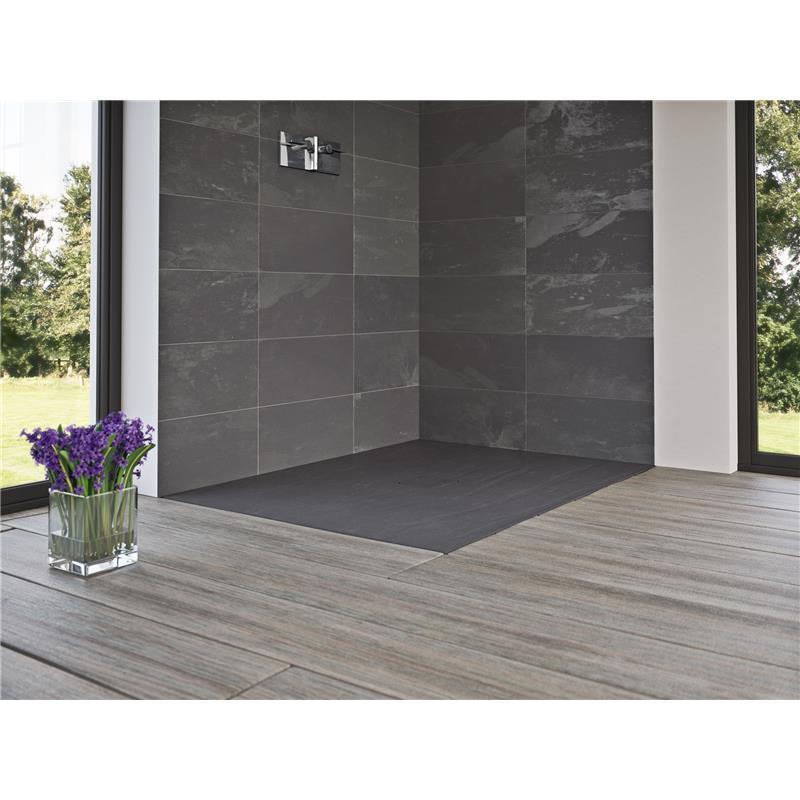 Slate Flat Standard Shower Floor 900 x 900mm