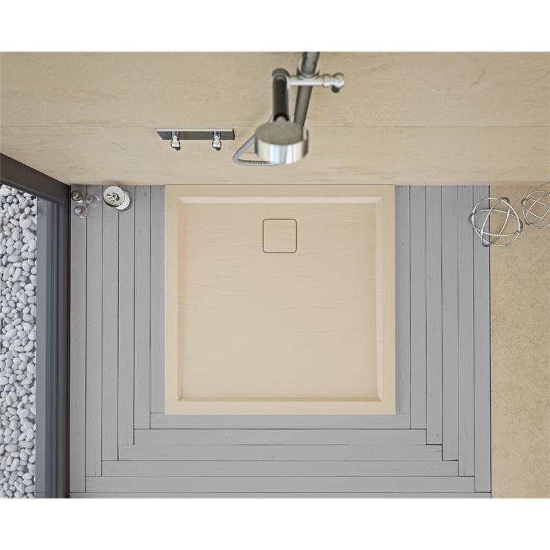 Slate Flat Standard Shower Tray 900 x 900mm