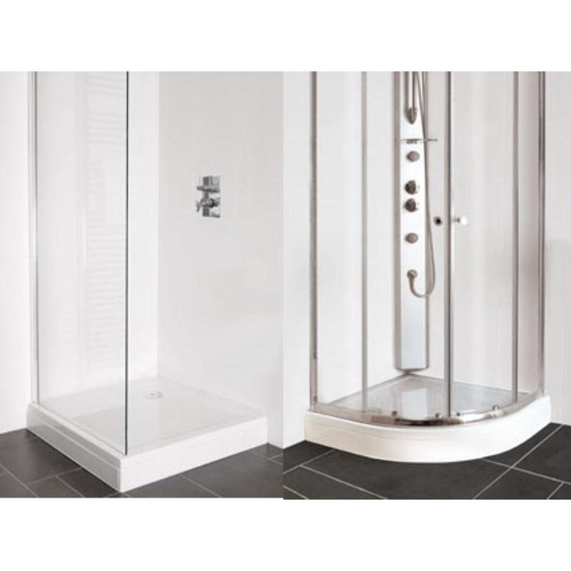 Rectangle Easy Plumb Stone Resin Shower Trays 194 163 76 Buy
