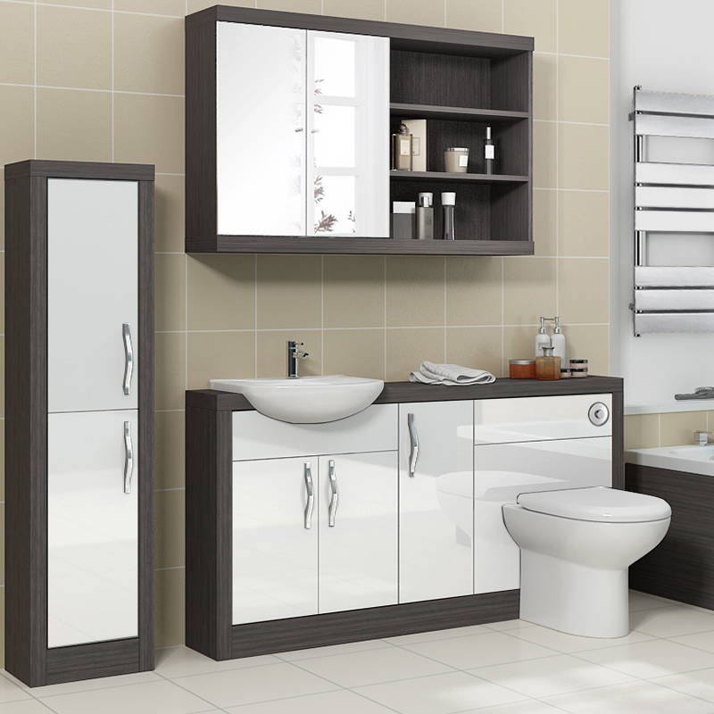 Original Burford Mocha Fitted Bathroom Furniture  Roper Rhodes