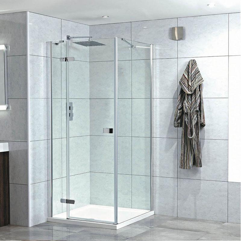 Idyllic 8mm Hinged Door Easy Clean Glass Buy Online At Bathroom City