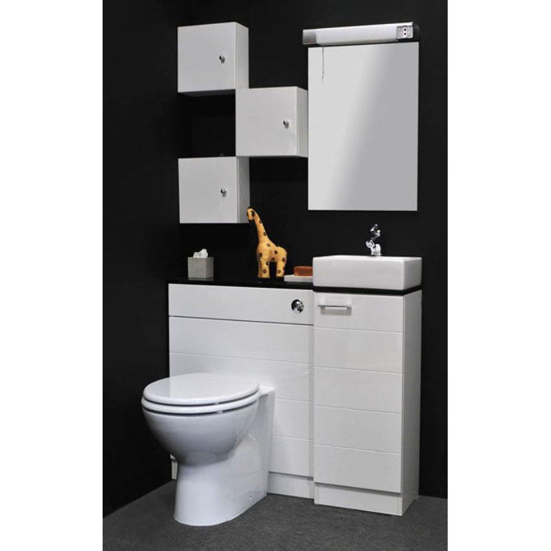 Spark Mercury White Cloakroom Suite Buy Online At Bathroom