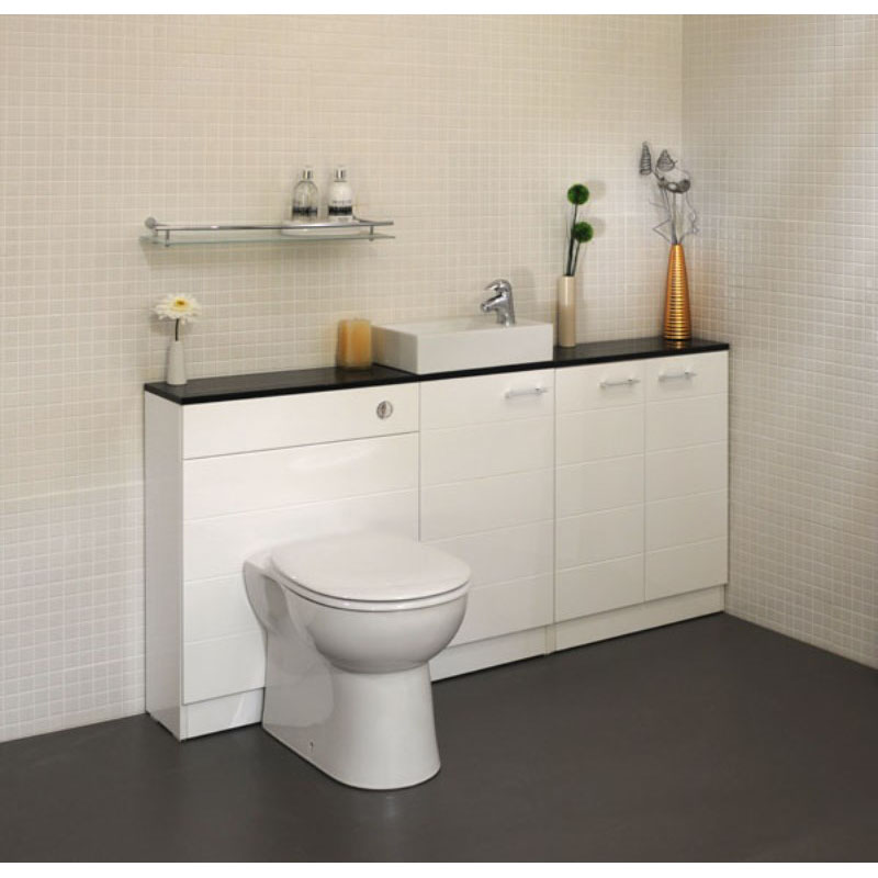 Spark Mercury White Cloakroom Suite Buy Online At Bathroom City