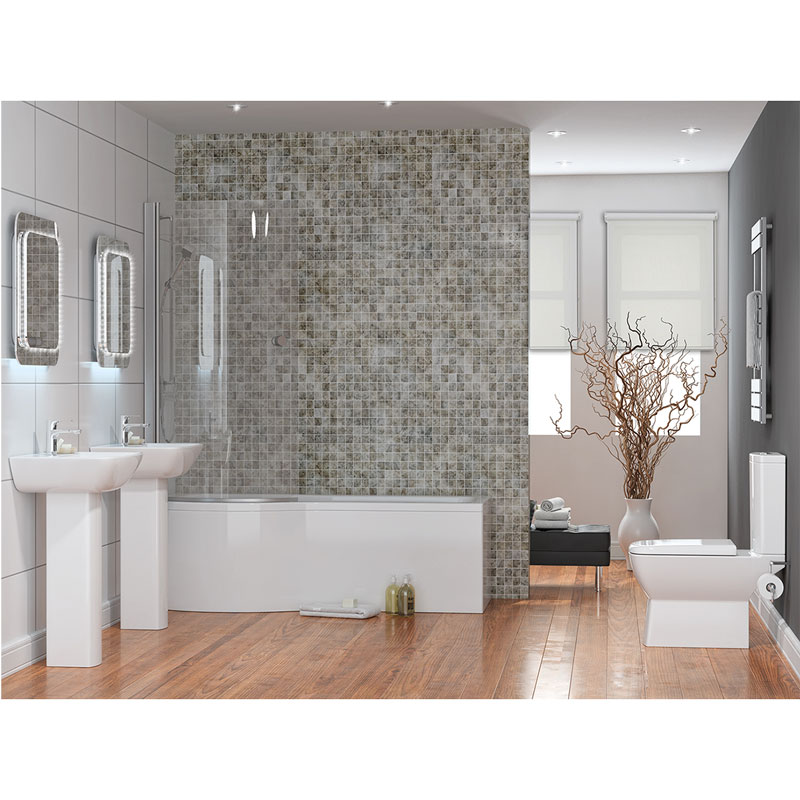Summit 4 piece bathroom suite buy online at bathroom city for 4 piece bathroom designs