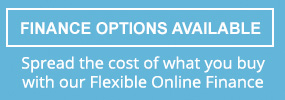 Finance Options Available. Spread the cost of what you buy with our Flexible Online Finance.