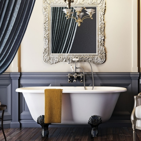 Traditional Roll Top Baths and Vintage Baths available at Bathroom City