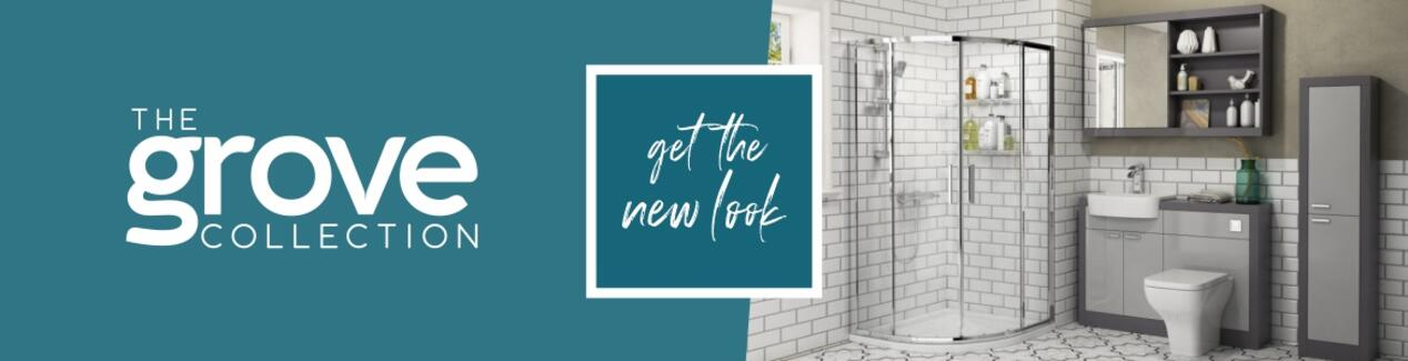 Grove Bathroom Furniture Range Brand Banner