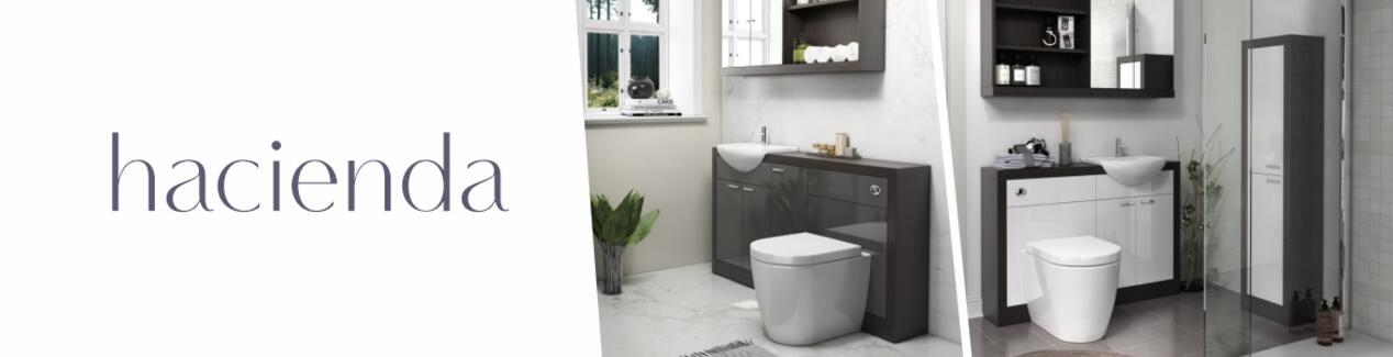 Hacienda Bathroom Furniture Range Brand Banner