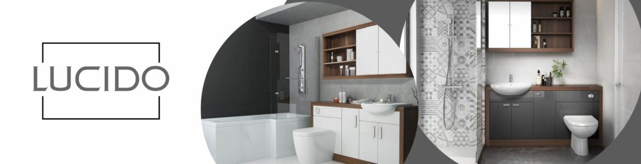 Lucido Bathroom Furniture Range Brand Banner