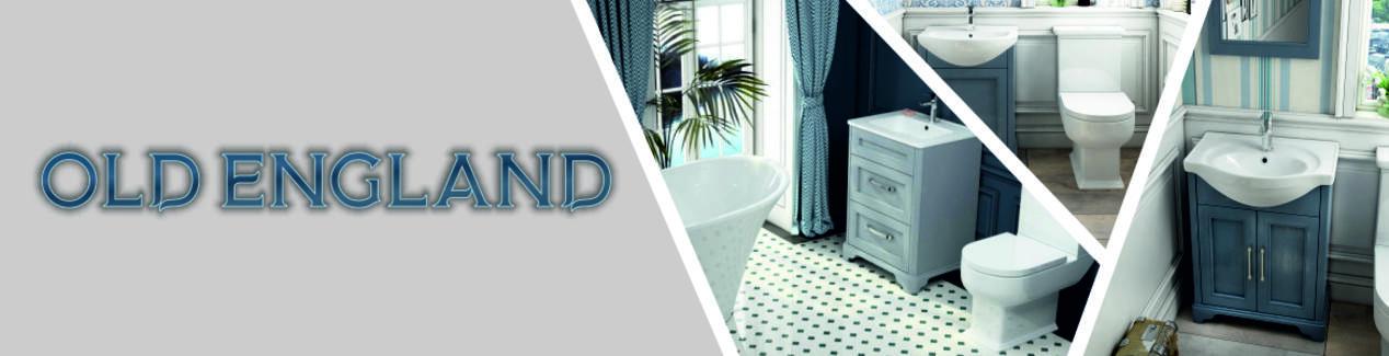 Old England Bathroom Furniture Range Brand Banner