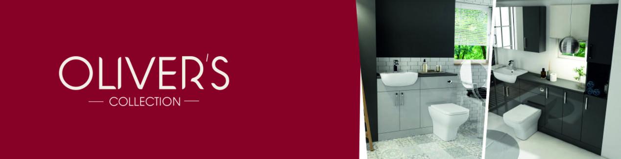 Oliver Bathroom Furniture Range Brand Banner