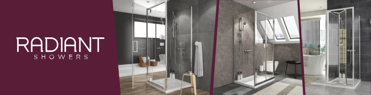 Radiant Bathroom Furniture Range Brand Banner