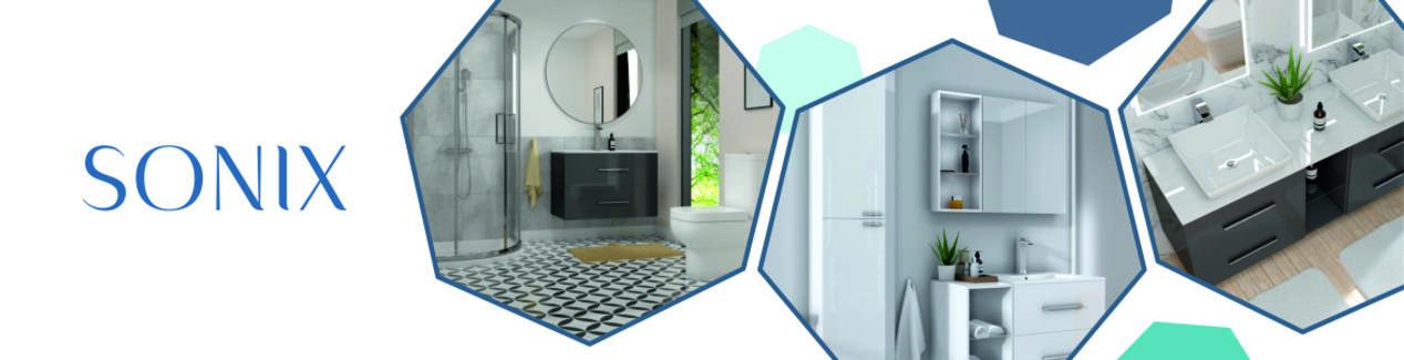Sonix Bathroom Furniture Brand Banner