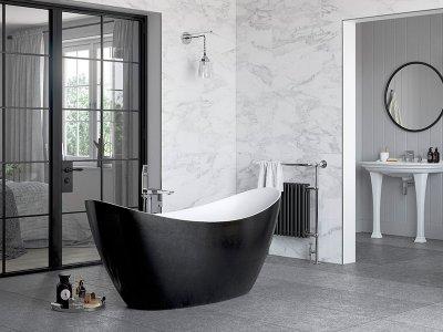 Ten Stunning Black Bathroom Ideas