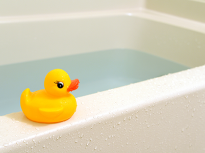 rubber duck on a bath and why you should love your bathroom