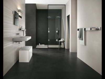 Black Bathroom Shower Ideas