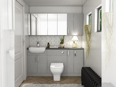 Stylish-Grey-Fitted-Bathroom-Furniture-UK