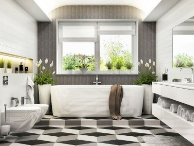 Image of a Timeless Bathroom Design