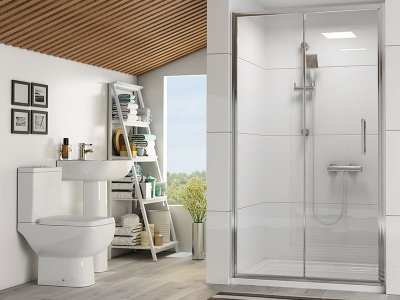 Reduced Height Shower Enclosures For Small Bathroom Spaces