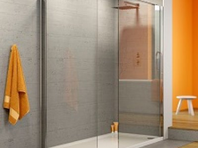 10mm shower enclosure wet room with shower tray