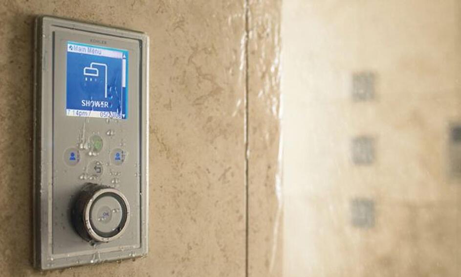 bathroom city digital shower
