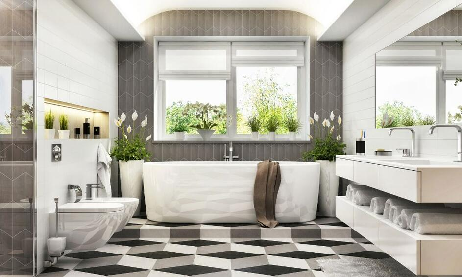 Image of a Timeless Bathroom Design