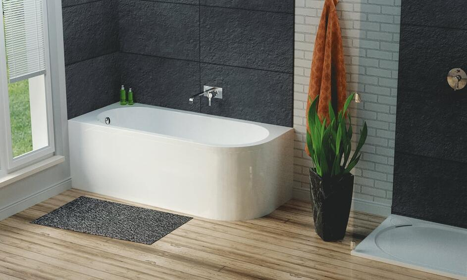 Stylish Corner Bath