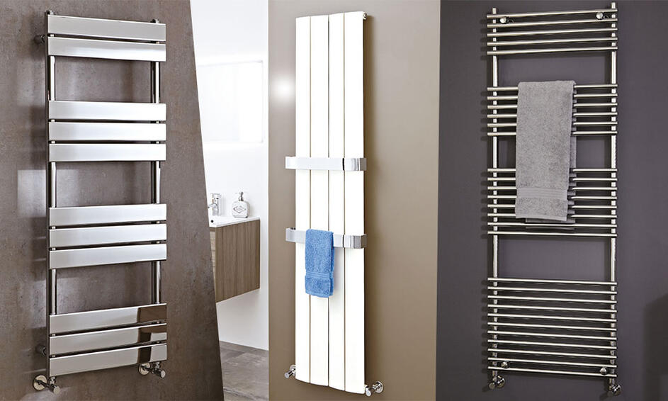 Heated Towel Rails To Warm The Coldest Of Bathrooms