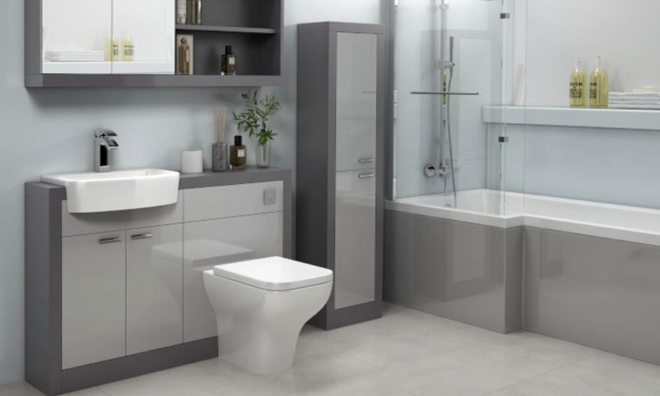 Top 10 Grey Bathroom Ideas Bathroom City