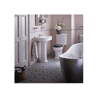 Bath straight corner and offset  suite collection