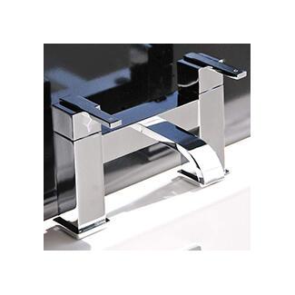 Bath tap 2 tap hole delux lever handle modern design