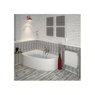 corner and off set space saving bath design ideas