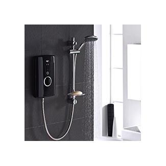 Modern Black Electric Shower