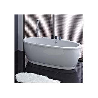 Mordern freestanding double ended baths
