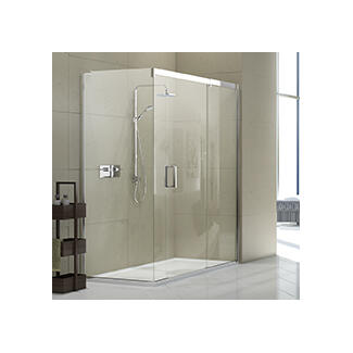 Big Glass Shower Enclosure with and with out doors