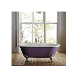 traditional style roll tops bath with modern designer claw feet
