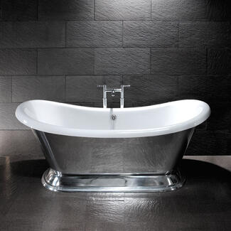 Strong steel bath double ended and singles ended designs