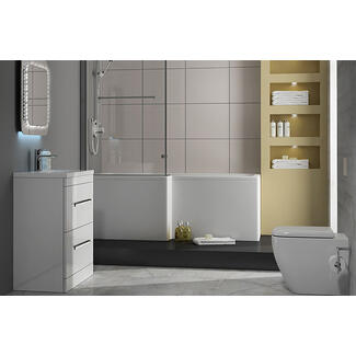 Complete modern Bathroom Suite