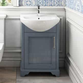 Small 550 Old England Cloakroom Vanity Unit