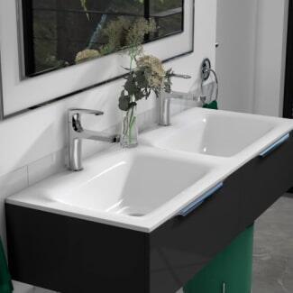 Room scene view of Modern Bathroom Taps