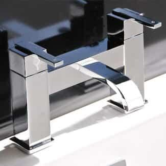 Chrome Baht Mixer Tap With Spout